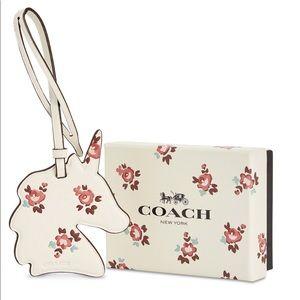Coach Unicorn Printed ornament Handbag Charm